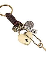 Key Chain / Key Chain Golden Metal / PU Leather