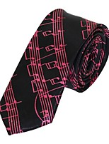Men  Wedding Party Polyester Silk Leisure Necktie Tie Jacquard