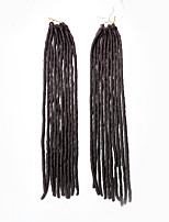 Faux Locs  Auburn Color 33 Synthetic Hair Crochet Braids 18inch 90g Kanekalon