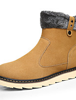 Men's Boots Fall / Winter Fashion Boots / Round Toe Leatherette Outdoor / Office & Career