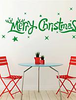 Natal / Feriado Wall Stickers Autocolantes de Aviões para Parede Autocolantes de Parede Decorativos,PVC Material RemovívelDecoração para