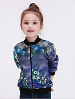 Completo e giacca Girl Casual Con stampe Cotone / Rayon Inverno / Primavera / Autunno Nero / Blu / Bianco