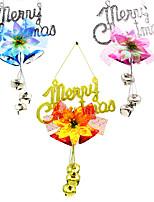 3ks vánoční deska zvon kouzlo ozdoby strom ratanový věnec přívěsek Vánoční výzdoba dodává domácí večírek dekor