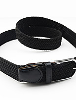 Fashion Women Belt Oxford Cloth Material Belt Metal Buckle Decorative Belts