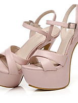 Women's Sandals Summer Heels / Platform / Sandals Patent Leather Party & Evening / Dress / Casual Stiletto Heel  / Pink