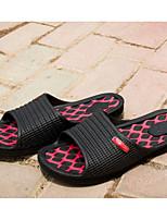 גברים-נעליים ללא שרוכים-פליזשחור לבן-יומיומי-עקב שטוח