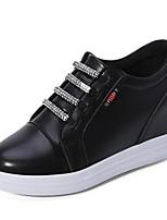 Women's Loafers & Slip-Ons Wedges Leatherette Outdoor / Athletic / Casual Wedge Heel CrystalBlack / Red /
