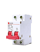 DZ47-2P63A Air Switch  Rated Voltage 230 / 400V