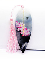 Chinese Style Ink Leaf Vein Bookmark Fresh Powder Charge Foreign Friends To Send Strange New Stationery