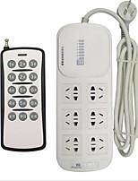 6-Position Remote Control Socket / Remote Control Power Socket / Smart Plug / Remote Control PC-1106A