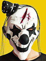 Halloween masque complet horreur grimace mascarade fête costumée mouvement robe de thème a vu le visage de masque cagoule