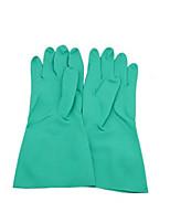 Acid And Alkali Resistant Nitrile Rubber Gloves    Size  M