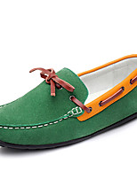 Men's Loafers & Slip-Ons Fall Comfort Synthetic / Rubber Casual Flat Heel Others Blue / Yellow / Green / Red Others