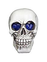 Halloween Props Skeleton/Skull Festival/Holiday Halloween Costumes White Solid More Accessories Halloween Unisex Engineering Plastic