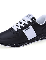 Men's Sneakers Spring / Fall Comfort Fabric Casual Flat Heel  Black / Blue / White Sneaker