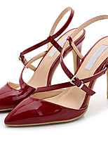Women's Sandals Summer Heels / Sandals / Pointed Toe Patent Leather Party & Evening / Dress / Casual Stiletto Heel