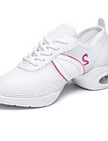 Non Customizable Women's Dance Shoes Fabric Fabric Modern Heels Chunky Heel Practice / Performance
