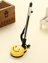 Smiling Face Black Ink Table Sticky Sign Advertisement Gel Pen