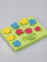 Flower silicone baking mold big rose cake pan decoration tools