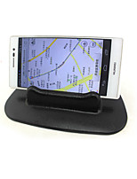 Vehicle Mounted Instrument Desk Anti Slip Mat / Multi Function Mini Vehicle Mobile Phone Rack / Navigation Support