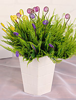1PC Household Artificial Flowers Sitting Room Adornment Flowers Plastic Artificial  Flowers