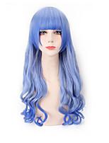 Буле цвет синтетические парики парики способа длинные волны женщины косплей