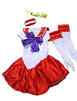 Costumes de Cosplay / Costume de Soirée Déguisements Thème Film/TV Fête / Célébration Déguisement HalloweenRouge / Incarnadin / Vert /