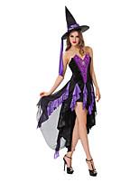 Costumes Esprit Halloween Violet Mosaïque Térylène Robe / Plus d'accessoires