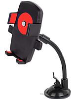 véhicule support de téléphone mobile monté à double serrage multifonctionnel 360 degrés de téléphone de voiture tournante mobile