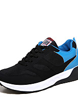 Men's Sneakers Spring / Summer / Fall / Winter Comfort / Round Toe / Closed Toe  Casual Flat Heel  Blue / Red / White
