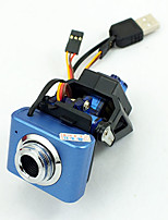 Fixture for servos of webcam for Robotics not includes camera