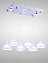 5W Lampe suspendue ,  Contemporain Peintures Fonctionnalité for LED AcryliqueSalle de séjour / Chambre à coucher / Salle à manger /
