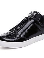 Men's Sneakers Spring / Fall Comfort Fabric Casual Flat Heel  Black / Silver / Gold Sneaker