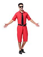 Costumes Plus de costumes Halloween Orange Couleur Pleine Térylène Haut / Pantalon / Plus d'accessoires