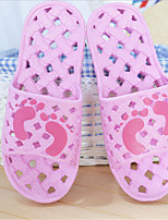 Women's Slippers & Flip-Flops Summer Fall PVC Casual Flat Heel Others Blue Yellow Pink Red Other