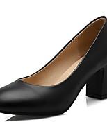 Damen-High Heels-Hochzeit / Büro / Kleid / Lässig / Party & Festivität-Kunststoff / Lackleder / Kunstleder-Blockabsatz-Absätze / Komfort