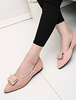Women's Flats Summer Comfort Leatherette Casual Flat Heel Others Black / Blue / Pink / Beige Others