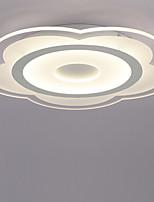 40W Montage du flux ,  Contemporain Peintures Fonctionnalité for LED AcryliqueSalle de séjour / Chambre à coucher / Salle à manger /