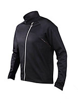 Sports Bike/Cycling Tops Long Sleeve Windproof / Comfortable / Thermal / Warm Fleece Classic Black S / M / L / XL / XXL