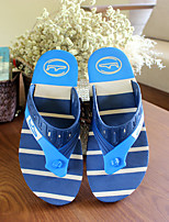 Men's Slippers & Flip-Flops Summer Slingback Rubber Casual Flat Heel Others Blue Beige Others