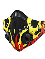 Sports Bike/Cycling Face Mask/Mask Unisex Sleeveless Dust Proof / Windproof Polyester / Mesh Classic Yellow / Green