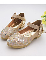 Flats Fall Comfort Light Up Shoes PU Casual Flat Heel Bowknot Sparkling Glitter Pink Silver Gold Other