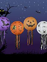 4ks dýně lampion Halloween dodává ozdobné podpěry strašidelného domu scéna dýně papírové lucerny