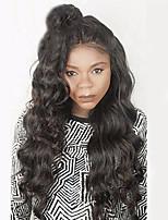 8а полный шнурок человеческих волос парики для женщин плотность 130% человеческих волос волнистый парики Бразильские волосы девственницы