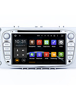 7 2 Din Android 5.1.1 lollipop bilstereo radio hd 1024 * 600 muti-berøringsskjerm GPS for Ford Focus 2 s-max mondeo