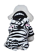 Cat / Dog Costume / Clothes/Jumpsuit Black Dog Clothes Winter / Spring/Fall Animal Cute / Cosplay
