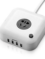 YOABO A Fil Others Smart usb socket Blanc