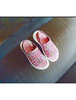 Unisex Sandals Summer Sandals Canvas Casual Flat Heel Plaid Yellow