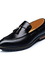 Men's Oxfords Spring / Summer / Fall Closed Toe PU Casual Flat Heel Others Black / Brown / White Others