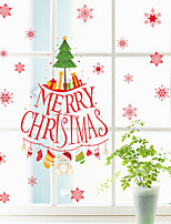 DIY Merry Christmas Wall Stickers Decoration Wall Stickers Removable Vinyl Wall Decals Xmas